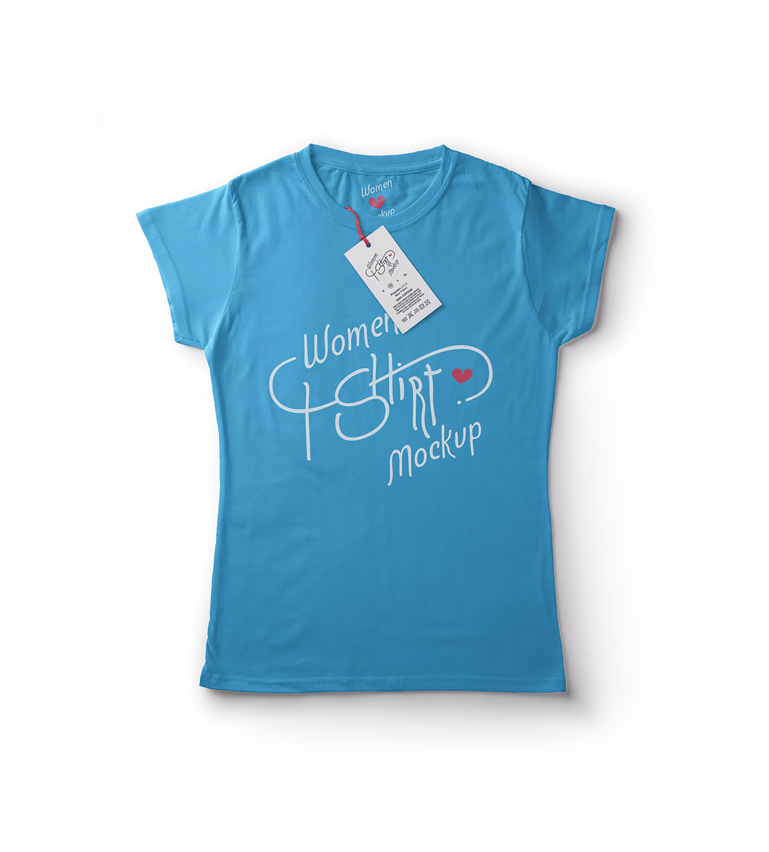 tee shirt women blue